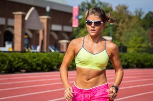 Aubrey Eicher Abs Running