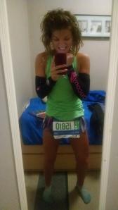 Marathon morning! PUMPED!