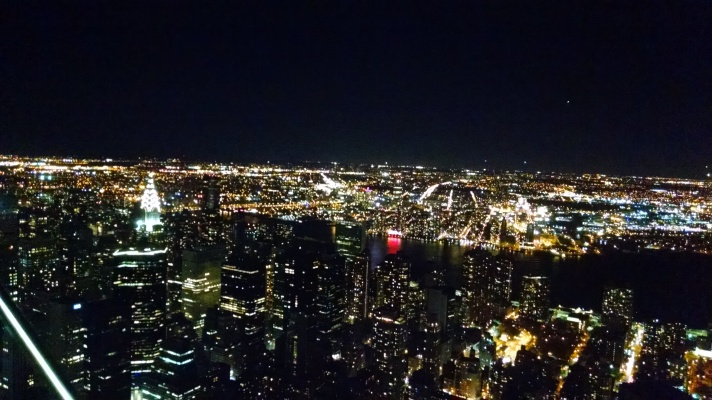 Empire State Building view!