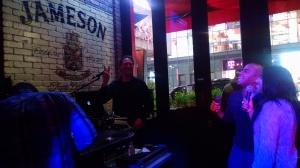 Karaoke in Times Square, New York City! #lovesinging #lovemusicalexpression