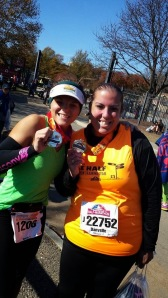 This friend completed her first half marathon! I LOVE seeing people try longer distances for the first time! So cool!