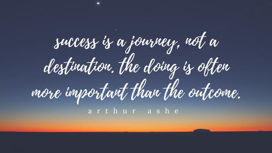 Aubrey Eicher - Success is a Journey