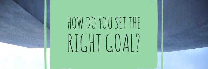 Aubrey Eicher - Goal Setting